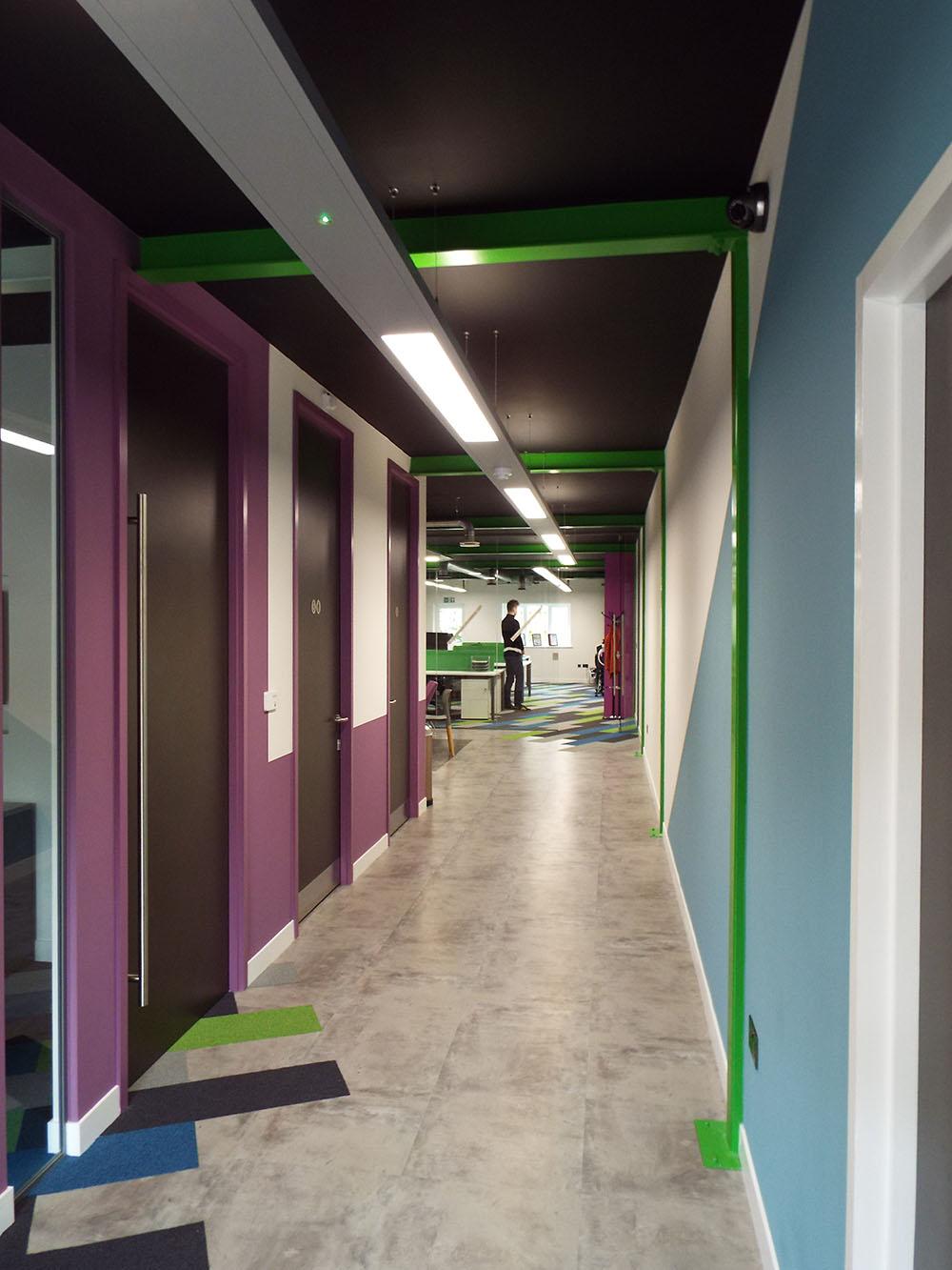 SDH Building Bolton entrance
