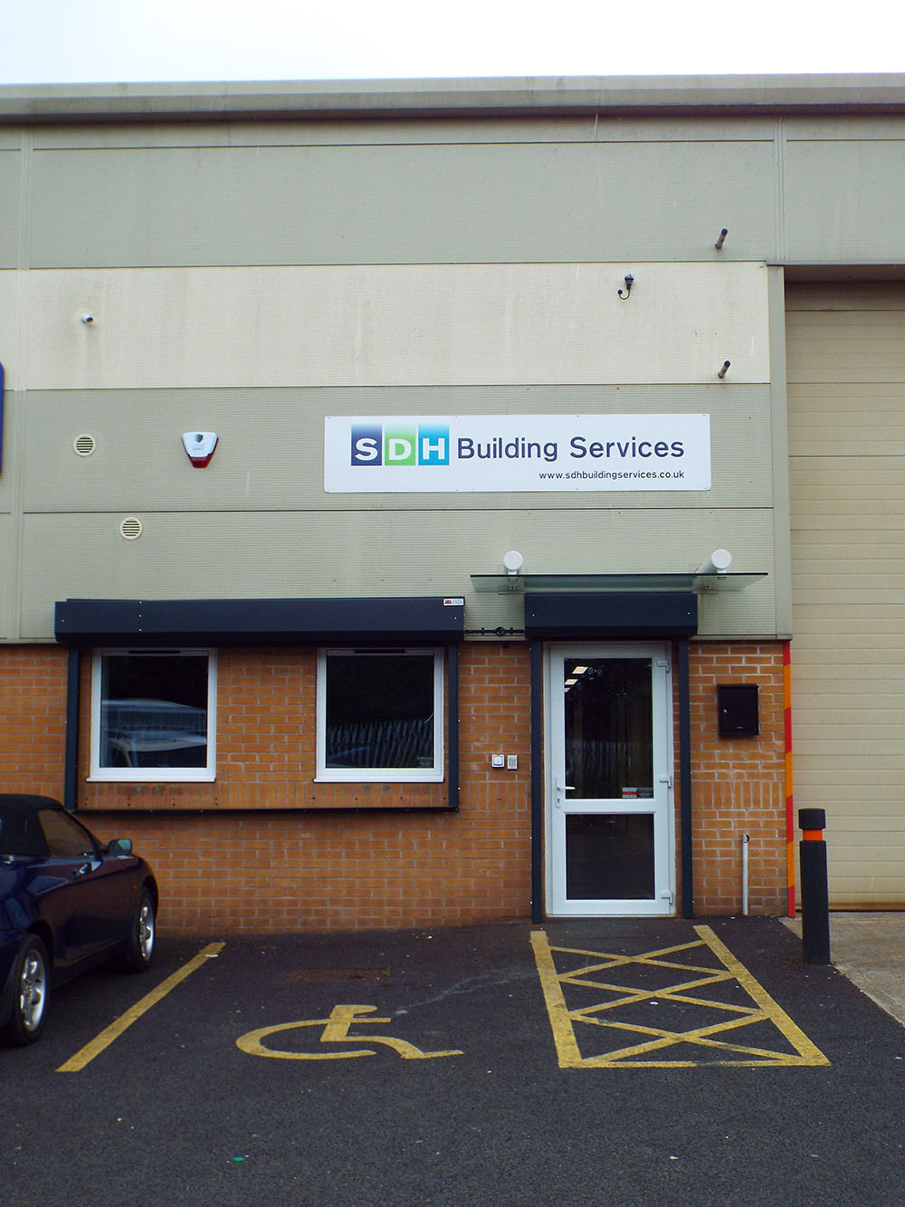 SDH Building Bolton External