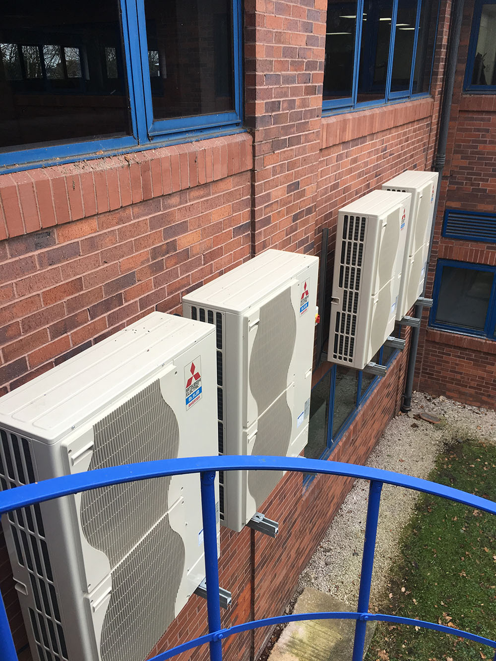 office air conditioning installation